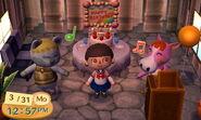 Klaus Birthdayparty Animal Crossing