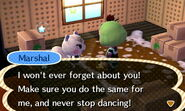 Marshall ACNL Moving Out