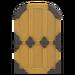 NH-House Customization-yellow zen door (round)