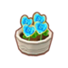 PC-FurnitureIcon-potted blue heart roses