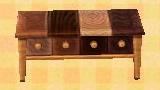 Mixed Wood Dresser