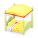 NH-Furniture-Cute bed (yellow)