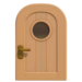 NH-House Customization-beige basic door (round)