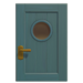 NH-House Customization-blue basic door (square)
