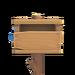 NH-House Customization-rustic mailbox