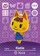 Amiibo 107 Katie