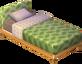 Leaf alpine bed