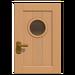 NH-House Customization-beige basic door (square)
