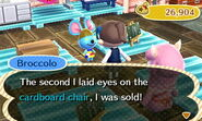 Broccolo ACNL Shopping