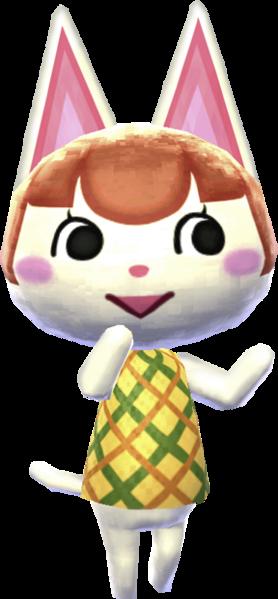 Animal Crossing Uchi Cat
