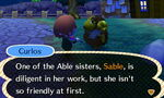 Curlos Talking About Sable