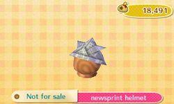 Newsprint Helmet Catalog