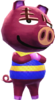 Rasher - Animal Crossing New Leaf