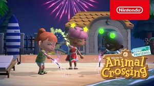 The next summer update arrives July 30th in Animal Crossing New Horizons! (Nintendo Switch)