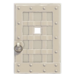 NH-House Customization-white iron door (square)