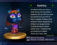 Trofeo de Katrina en SSBB