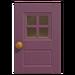 NH-House Customization-purple windowed door (square)