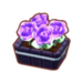 PC-FurnitureIcon-potted gothic purple roses