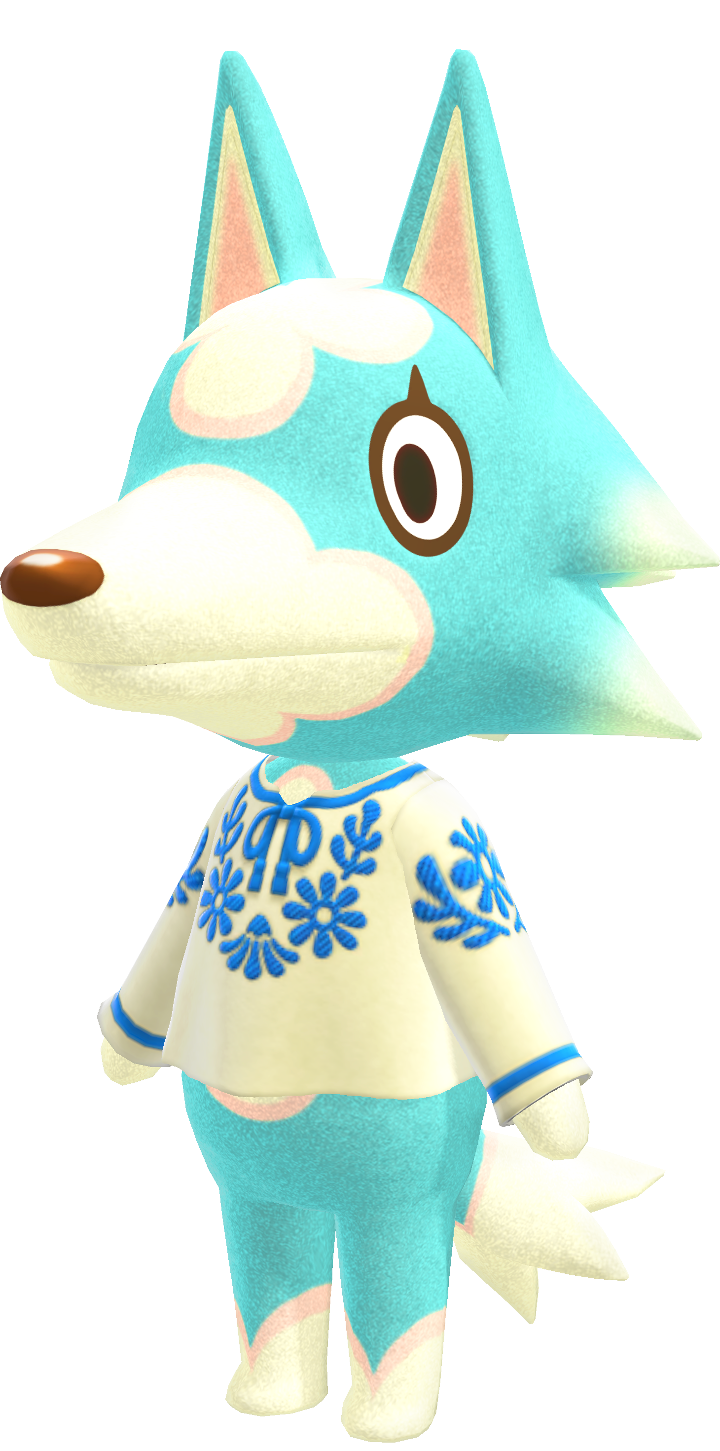 animal crossing villagers wolf freya