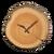 NH-Furniture-Log wall-mounted clock