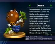 Trofeo de Juana en SSBB