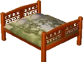 Exotic bed