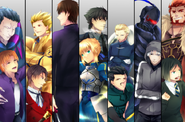 Personnages-Fate Zero