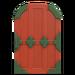NH-House Customization-red zen door (round)