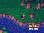 Vecinos pescando