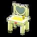 NH-Furniture-Cute vanity (yellow)