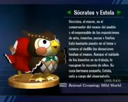 Trofeo de Sócrates y Estela en SSBB