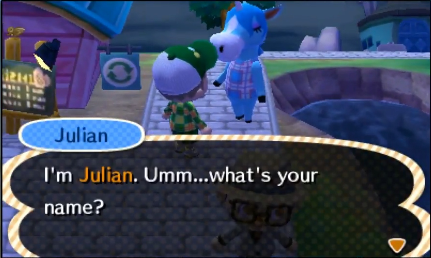 Julian Animal Crossing Wiki Fandom