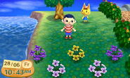 Katie ACNL Villager Wandering