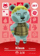 Amiibo 257 Klaus