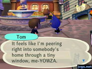 Tom in city