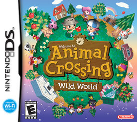 Animal Crossing Wild World (Portada)