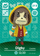 Amiibo 213 Digby