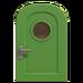 NH-House Customization-green-apple basic door (round)