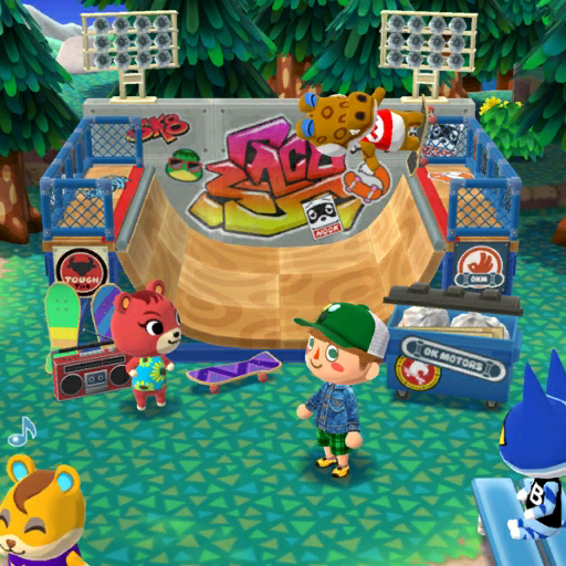 Magnificent Amenities Animal Crossing Wiki Fandom Powered By Wikia Theyellowbook Wood Chair Design Ideas Theyellowbookinfo