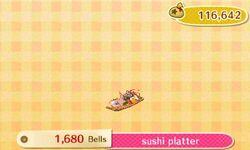 Sushi Platter Catalog