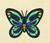 Mariposa alas de pájaro NH