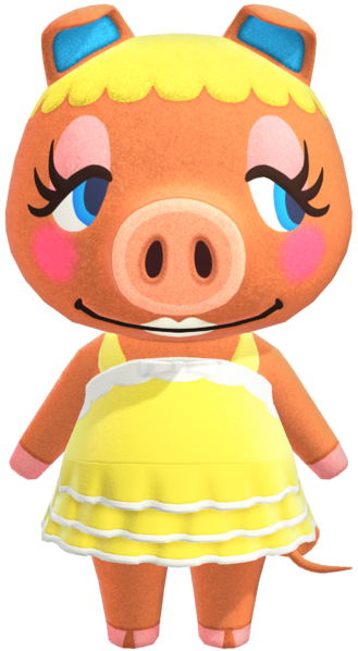 Pancetti   Animal Crossing Wiki   Fandom