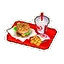 Burger Meal HHD Icon