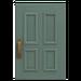 NH-House Customization-gray common door (square)