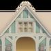NH-House Customization-light-blue chalet exterior