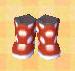 Polka-Dot Rain Boots