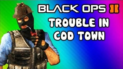 Black Ops 2 Custom Game - Trouble in COD Town (Inspired by Trouble in Terrorist Town Funny Moments)-0