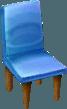 Common chair blue NL