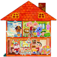 Animal Crossing Happy Home Designer (Artwork)