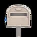 NH-House Customization-white ordinary mailbox